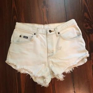 UO renewal collection jean shorts.
